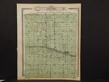 Illinois, McLean County Map, 1914, Danvers Township, J5#83