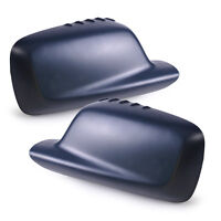 Left+Right Wing Door Mirror Cover Cap 51167074235 51167074236 fit BMW E46 E65