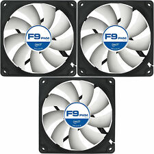 x 3 ARCTIC COOLING F9 PWM rev.2 92mm étui Ventilateur 1800 RPM