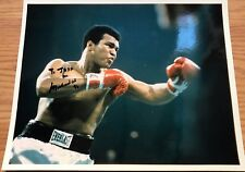 MUHAMMAD ALI HAND BOXING BOXER HAND SIGNED AUTOGRAPHED PHOTO 8x10