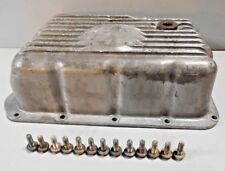 Citroen SM Maserati Merak Oil Pan Crankcase with Bolts- C114/1 --Nice Shape