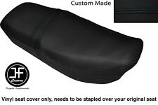 BLACK VINYL CUSTOM FITS HONDA CB 650 SC NIGHTHAWK 82-85 DUAL SEAT COVER ONLY