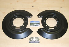 2 x rear brake backing plates NEW for Vauxhall Calibra pair of anchor plates set