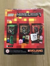 LEGO Minecraft Micro World The Nether Set 21106 NEW factory sealed 469 pcs