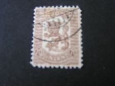 *Finland, Scott # 116, 70p. Value Gray Brown 1918 Vasa Coat Of Arms Issue Used