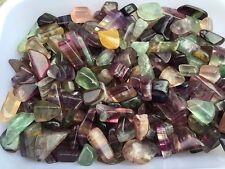 Bulk Tumbled Bulk Rough Fluorite Gemstones, 1/2 lb Gemstone mineral