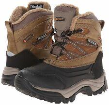 Hi-Tec 162087 Boys Snow Peak 200 Cold Weather Boots Big Kids Brown Size 7 (39)