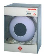 Telefunken Bs 1004w Bluetooth altavoces blanco salpicaduras, música 4h