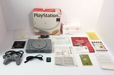 Playstation One System, Playstation 1, Complete in Box, Tested and Working, VGC