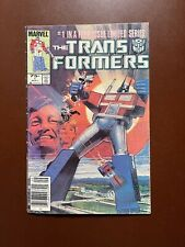 1984 THE TRANSFORMERS LIMITED SERIES # 1 MARVEL COMICS NEWSSTAND
