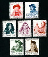 Portugal Stamps # 675-82 VF OG LH Set of 8 Scott Value $155.45