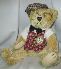 Brass Button Bear Bentley The Bear Of Wealth Fully Jointed 12 inch