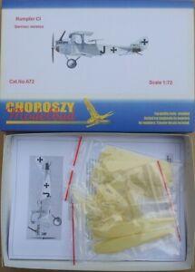 A72 - Rumpler CI GERMAN VERSION  - Choroszy Modelbud-1/72