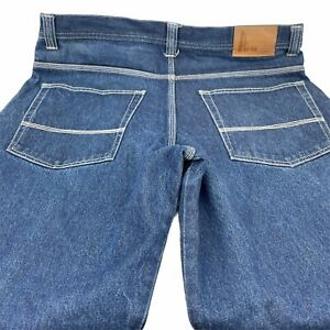 Risk Jeans Tag Size 40X32 Relaxed Medium Denim Wash Mens 40X30.5