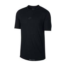 Nike Sportswear Tech Pack Tee Men's Black Activewear Streetwear T-Shirt Top