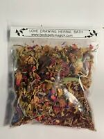 LOVE DRAWING Spell & Bath Herbal Blend by Best Spells Magick Santeria Wicca
