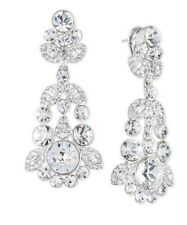 $150 GivenchyOrnate Crystal Chandelier Earrings