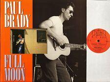 PAUL BRADY full moon FIEND 34 A1/B2 uk demon 1984 LP PS EX+/EX