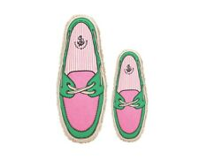 Harry Barker Boat Shoe Canvas Toy Small Pink