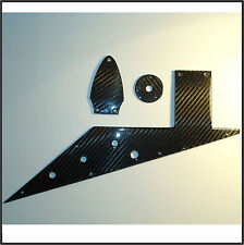 Gibson Flying V 1998 Limited Edition Kit Pickguard Cover REAL Carbon Fiber