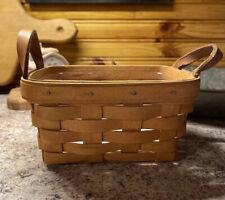 Longaberger Tea Basket with Protector