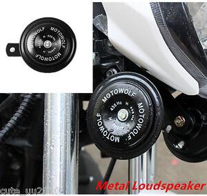 1Pc 12V 110dB Motorcycle Car Auto Truck Loud Speaker Snail Horn Waterproof New