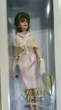 Certify The Jackie Doll Visit to Rome and the Vatican Pink Dress with Mantilla.