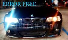 BMW E46 E90 E91 E87 E53 XENON ICE WHITE LED SIDE LIGHT Bulbs ERROR FREE