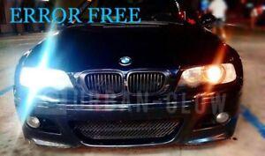 BMW E46 E90 E91 E87 E53 XENON ICE WHITE LED SIDE LIGHT Bulbs ERROR FREE