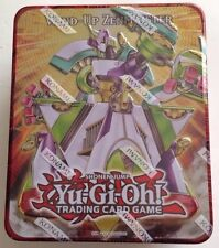 Yugioh 2011 Collectible Tin Wind-Up Zenmaister Super Rare Pot of Duality +5Packs