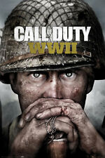 "Call Of Duty POSTER ""WWII"" COVER ""WW2"" Brand New LARGE SIZE 61 X 91.5 CM"