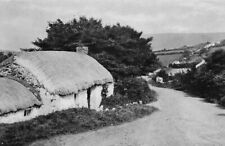 Downhill cottages Coleraine N. Ireland, 1948 photo view in mount ready to frame