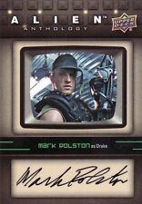 2016 Upper Deck UD Alien Anthology Mark Rolston as Drake SA-MR Auto Card