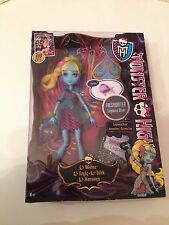 Monster High LAGOONA BLUE 13 Wishes Doll Fresh Water & Pet Fish NEPTUNA MATTEL