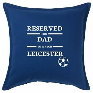 Reserved For Personalised Leicester Football Cushion Cover