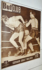 BUT ET CLUB N°89 1947 BOXE BOXING CERDAN Vs WALKER FOOTBALL RUGBY JEU A XIII