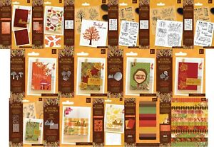 Crafters Companion - Nature's Garden - Autumn Blessings Collection