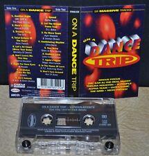 ON A DANCE TRIP       - 18 MASSIVE TRACKS -                        Cassette Tape