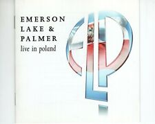 CD	EMERSON LAKE & PALMER	live in Poland	UK EX  (B3997)