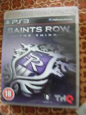 Saints Row: el tercer (Sony PlayStation 3, 2011) con Folleto-en muy buena condición
