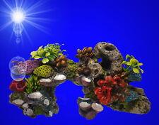 Nobby 28569 Aqua Ornaments Stein mit Korallen und Pflanzen
