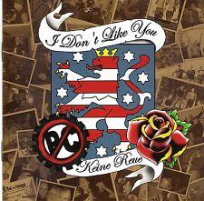 I DON'T LIKE YOU - KEINE REUE CD OI SKIN STREET PUNK KAMPFZONE BOMBECKS BOOTBOYS
