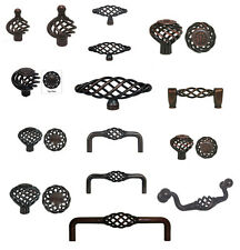 Cabinet Pull Drawer Handle Birdcage Kitchen Hardware Oil Rubbed Bronze