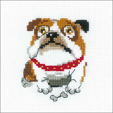 English Bulldog Counted Cross Stitch Kit