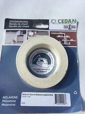 Cedan White 417 Iron On Melamamine Edgebanding 13/16X25 Free Shipping