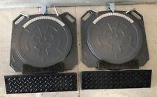 Aluminum Wheel Alignment Turn Plates Turntables/plates/turn/ta bles w/ramps