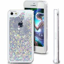 Floating Luxury Bling Glitter Love Heart Hard Case for Apple iPhone 5S iPhone 5