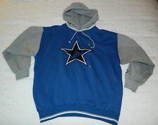 Vintage Men's Starter NFL Dallas Cowboys Hoodie Sweatshirt Size Medium Blue