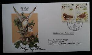 1985 Turks & Caicos Islands Birds 200th Anniv Birth of John J. Audubon FDC