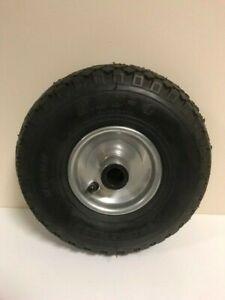 Caravan / Trailer  - Pnuematic Rubber Jockey Wheel - 3.00-4 - 260 x 75 mm - 1667